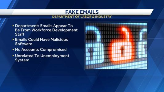 Pennsylvania Department of Labor & Industry warns about spoofed emails