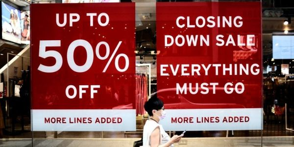 The OECD warns the world economy will collapse by 4.5% this year, in its worst slowdown since World War Two