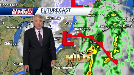 Video: Scattered showers in morning to be followed by downpours at night