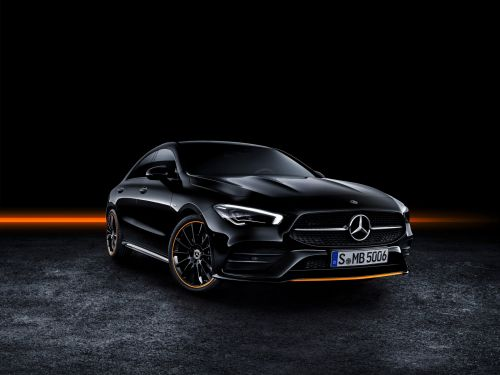 Mercedes-Benz just unveiled the stylish new CLA coupe to take on BMW and Audi