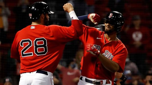 Bogaerts' 3-run homer lifts Red Sox to victory over Blue Jays