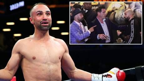 'I'm gonna p*ss in your toothless mouth': Malignaggi fires off at Lobov at expletive-laden presser