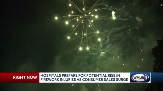 Hospitals prepare for potential rise in fireworks injuries as consumer sales surge