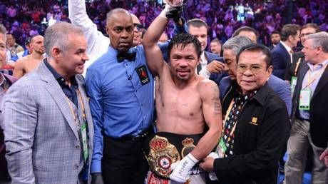 Pac-Man is back! Manny Pacquiao dethrones Keith Thurman to win world title number NINE