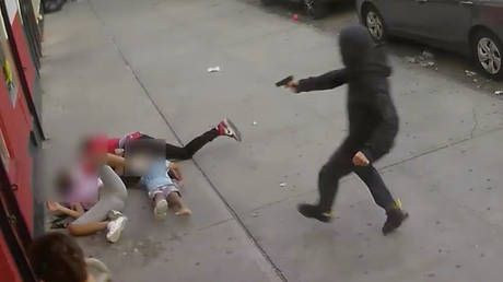 'Beyond horrific': New York City police release GRAPHIC VIDEO of daylight Bronx shooting involving child