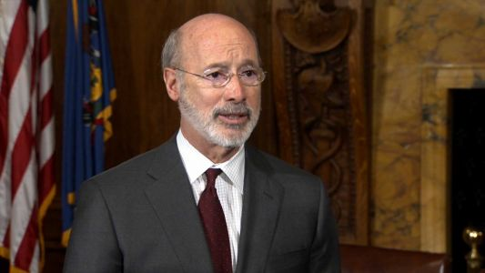 Gov. Wolf says 'no' to speculation about VP