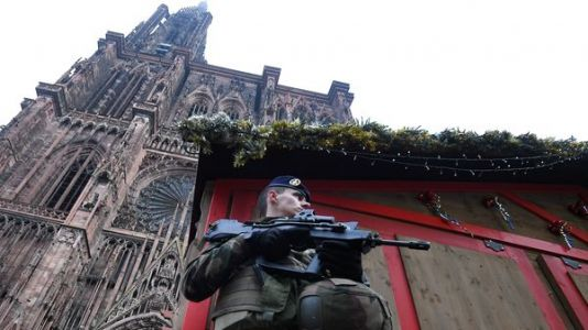 Manhunt Underway For Suspect In Attack On French Christmas Market