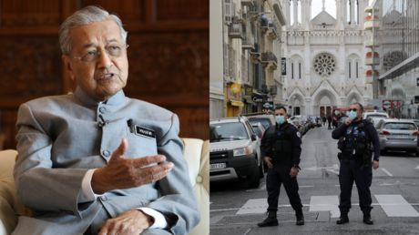 What happened to that censorship, Twitter? Ex-Malaysian PM says Muslims have RIGHT TO KILL millions of French