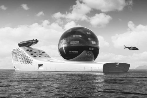Tickets for this nuclear-powered superyacht will cost $3 million for VIPs and be free to scientists and students selected to help study climate change