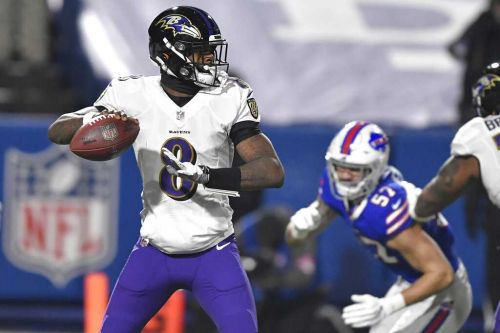 Bills fans donate to charity after Ravens QB Lamar Jackson is knocked out of playoff loss