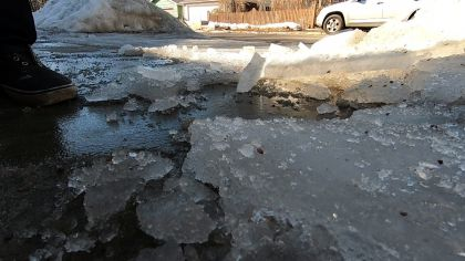 Spring Thaw Wreaking Havoc On Homes, Lawns