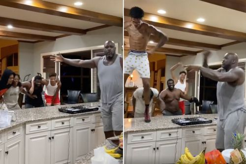 Shaq's quarantine life is out of control