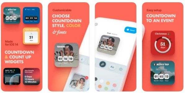 Create gorgeous countdown widgets for your iPhone with this app