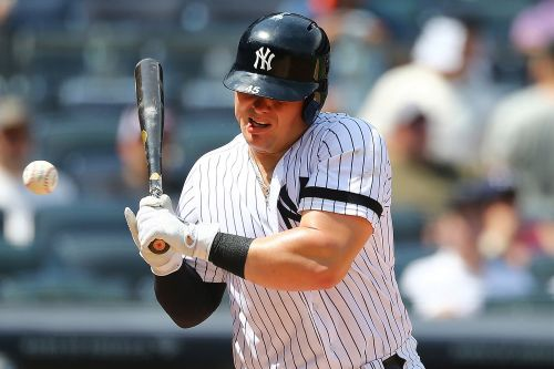 Luke Voit exits after taking harsh fastball to the face