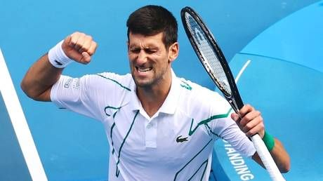 Australian Open 2020: Novak Djokovic powers into quarter-finals with straight-sets win
