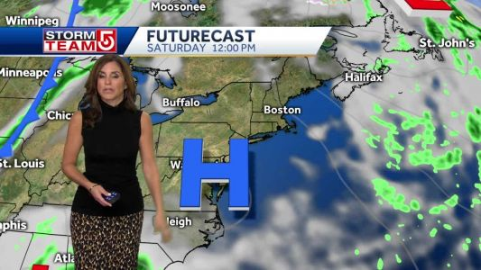 Video: Gusty breeze with temps in 50s