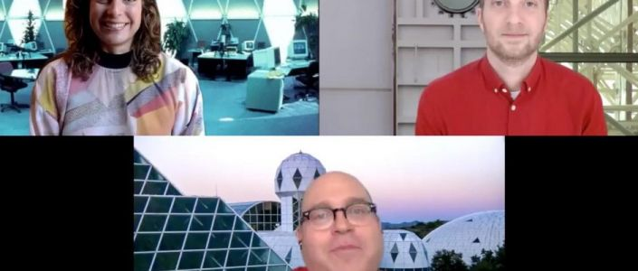A Virtual Promotional Tour: Setting Up a Home Zoom Studio for Spaceship Earth