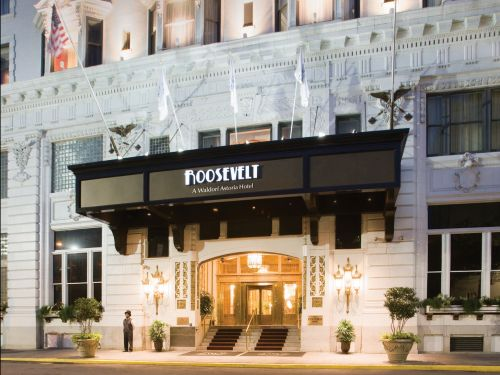 A New Orleans hotel is offering people the chance to stay in a luxury suite if they return items they've stolen from its premises