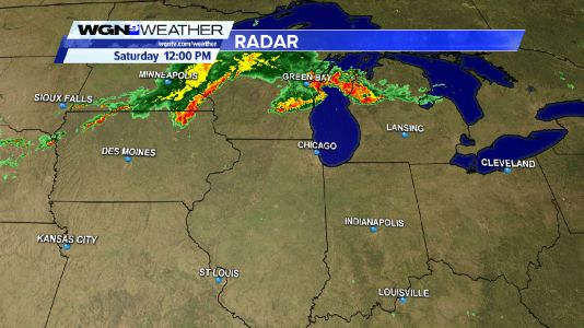 Severe Thunderstorm Watch in effect until 9PM CDT for a large portion of northern Illinois, including the city of Chicago