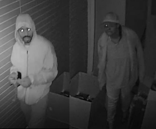 Harrisburg police trying to identify man, woman suspected in burglary