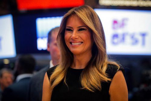Melania Trump rings opening bell at New York Stock Exchange