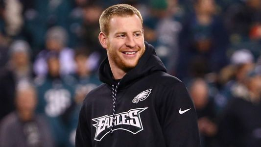 Report: Eagles QB Carson Wentz 'On Track' for Week 3 Return vs. Colts