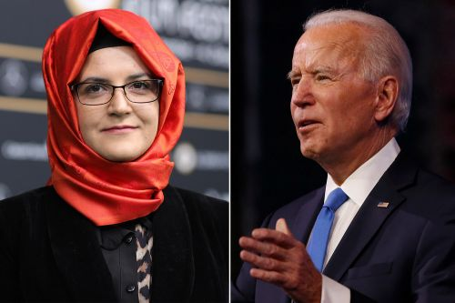 Jamal Khashoggi's fiancée wants Biden to release CIA report on murder