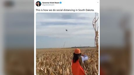 'Are you bonkers or just cruel?':South Dakota Gov. Noem & PETA exchange blows on Twitter over video of her shooting birds