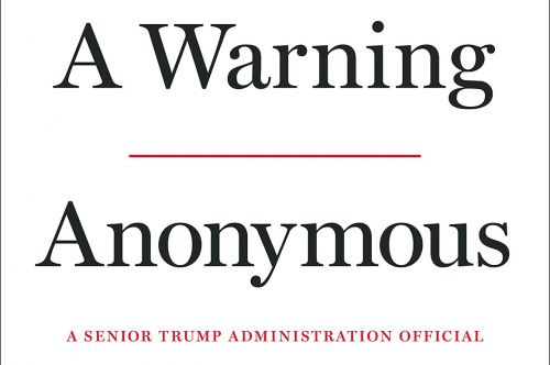 Author of anonymous NYTimes op-ed to release tell-all book