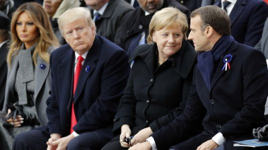 World Leaders Warn Against Nationalism At World War I Remembrance Ceremony