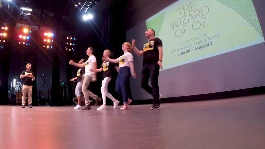 Act Louisville Productions prepares to debut Wizard of Oz at Iroquois Amphitheater
