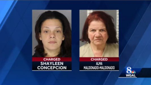 Harrisburg mother, grandmother charged in infant's death