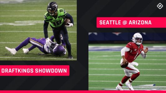 Sunday Night Football DraftKings Picks: NFL DFS lineup advice for Week 7 Seahawks-Cardinals Showdown tournaments