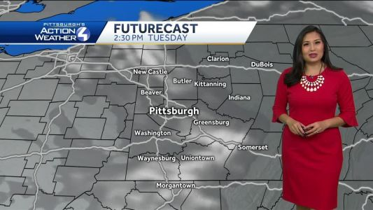 Cold and Breezy Start to the Week