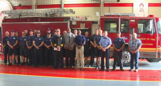 Middletown Fire Department donating fire truck to Caribbean island