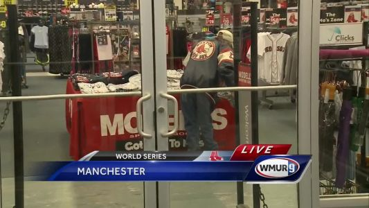 Red Sox fans stay up late, wake up early to get ALCS Championship gear