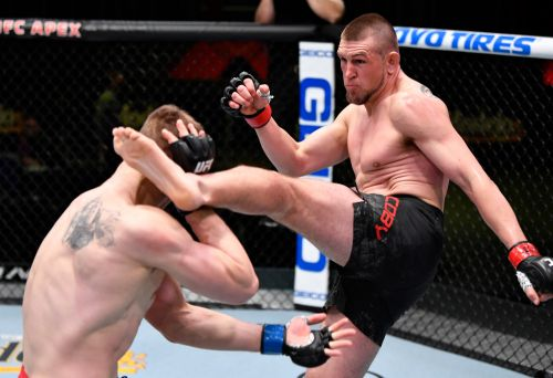 UFC Fight Night 186 results: Magomed Ankalaev outworks Nikita Krylov en route to sixth straight win