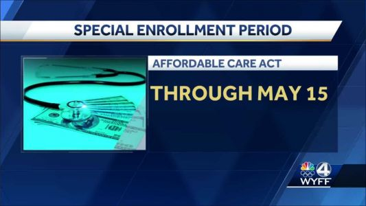 Special health care enrollment now open until May 15