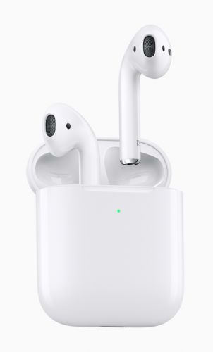 Apple Debuts New AirPods With Longer Talk Time, Wireless Charging