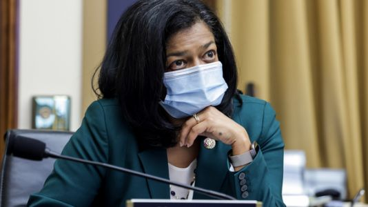 Rep. Jayapal Blames Insurrection Lockdown After Testing Positive For COVID-19