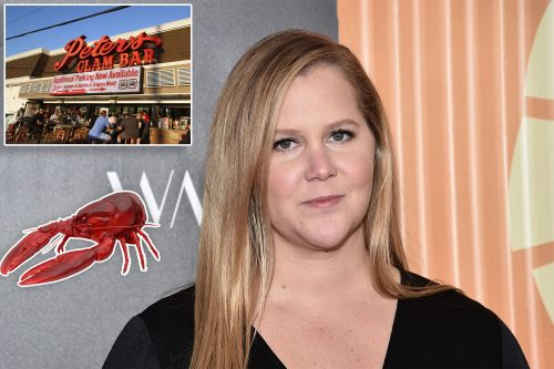 Amy Schumer gets lobster named after her at Peter's Clam Bar