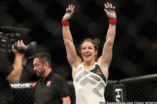 Injury scratches Sara McMann from UFC on ESPN+ 13