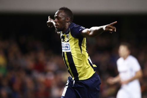 Electric pace, a predator's instincts, and 2 goals: Usain Bolt impresses in an Australian soccer match as Central Coast Mariners romp to a 4-0 win