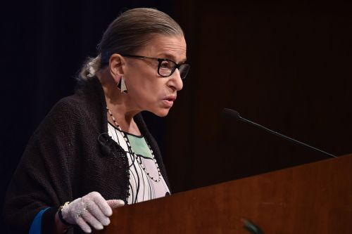 Ruth Bader Ginsburg returns to the Supreme Court