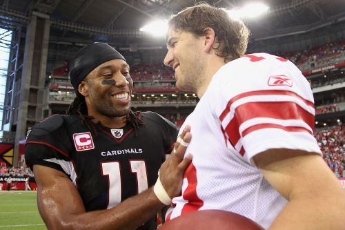 How Larry Fitzgerald got Eli Manning to end his football hiatus