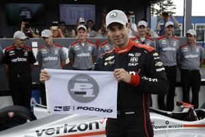 The Latest: Wickens hospitalized after IndyCar crash