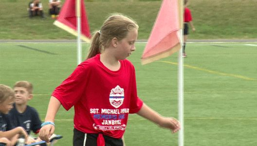 Soccer jamboree held in honor of fallen Weymouth police officer