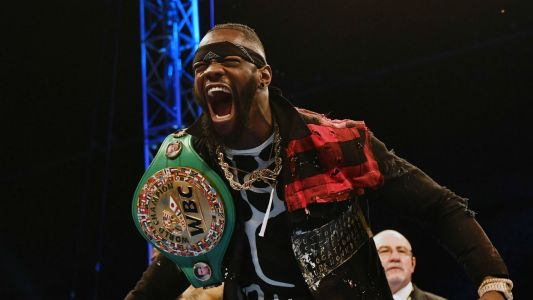 Deontay Wilder wins Twitter vote to be Anthony Joshua's next opponent