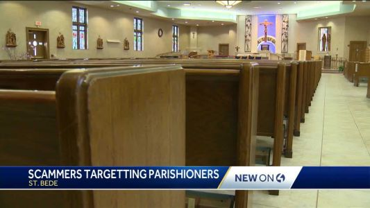 Local parishioners targeted by people claiming to be their priest