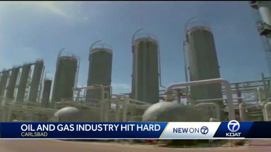 Carlsbad hit hard as oil, gas production slows